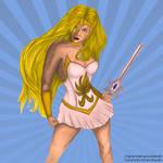 She-Ra by Aztarieth - coloured