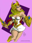 She-Ra by ChaChaMan - coloured