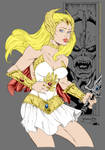 She-Ra by thincage + inker-guy