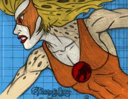Cheetara v2 by DreamPen colour