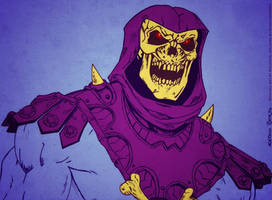 Skeletor by nolandis - coloured