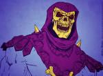 Skeletor by nolandis - coloured