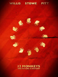 12 Monkeys (circle design poster) by haydenyale