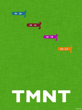 TMNT Masks (minimalist poster)