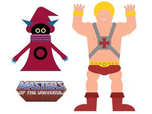He-Man and Orko, Assembled