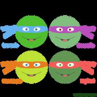 TMNT Heads