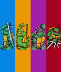TMNT - Arcade Pixels