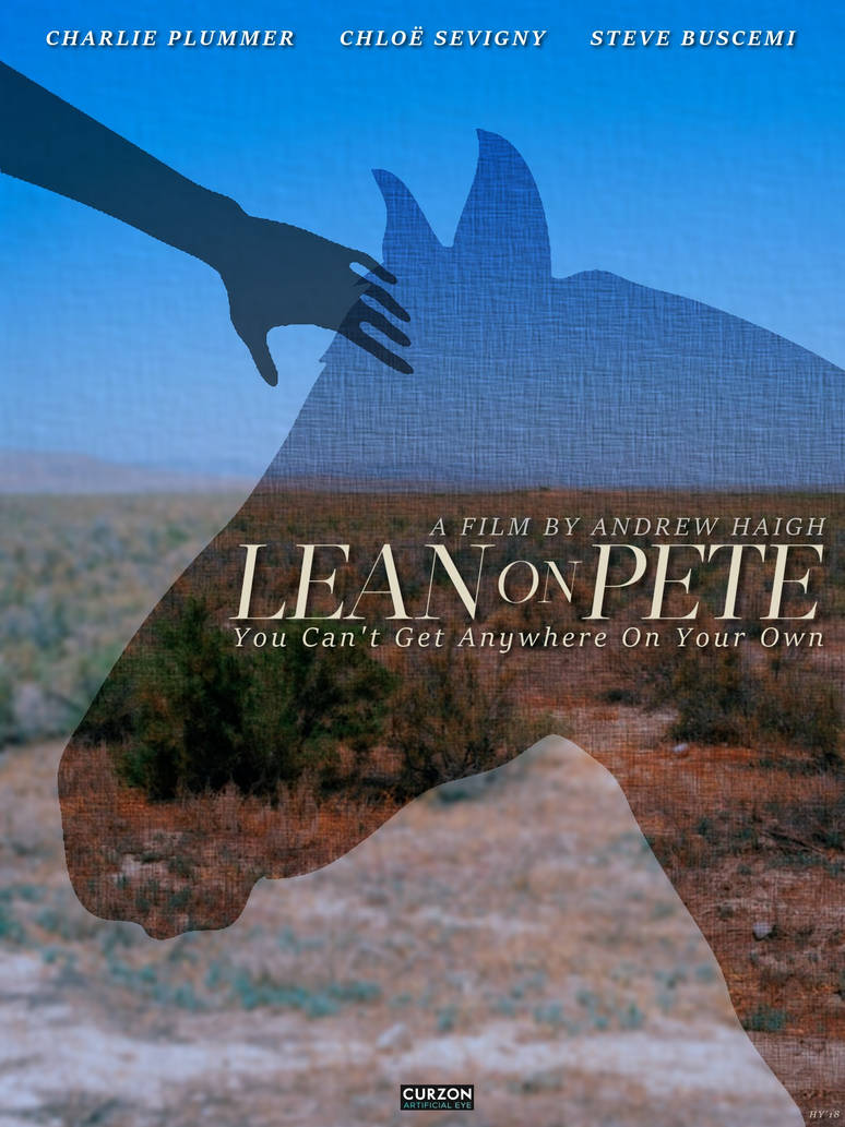 Lean On Pete (movie poster) by haydenyale