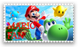 My first stamp. Mario Fan by Master-wolf149