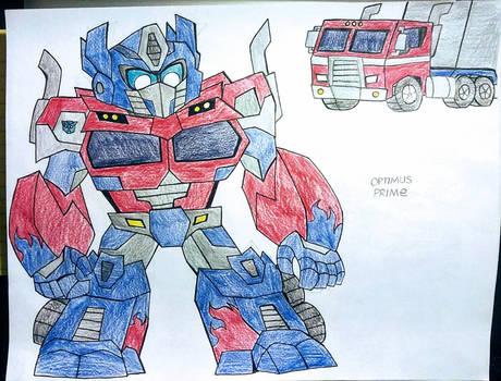 TF:LOC - Optimus Prime (Rebuilt)