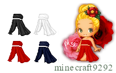 C2U: Rose Outfit Pack by minecraft9292