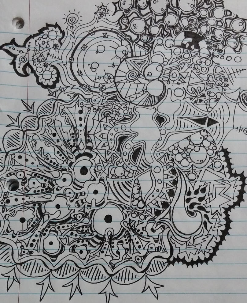 Intricate Doodles (Cropped and Reuploaded) by KellyTheAlien