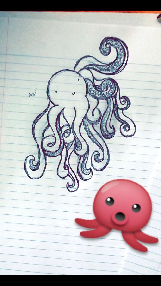 Octopus by KellyTheAlien