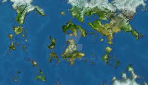 Teirra Planetary Map 12