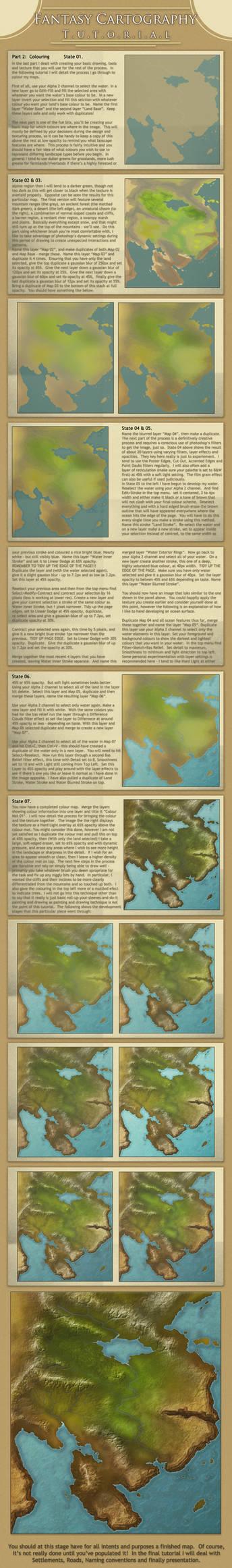 Cartography Tutorial part 2:  Colouring
