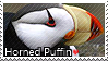 Horned Puffin - Stamp by l---Skipper---l
