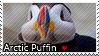 Arctic Puffin - Stamp by l---Skipper---l