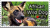 African Wild Dog - stamp by l---Skipper---l