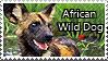 African Wild Dog - stamp by l---Skipper---l