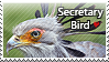 Secretary Bird - stamp by l---Skipper---l