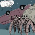 Hermit Crabs are Dicks