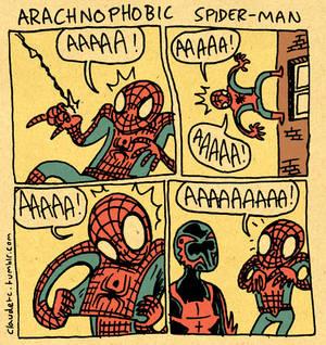 Arachnophobic Spider-Man