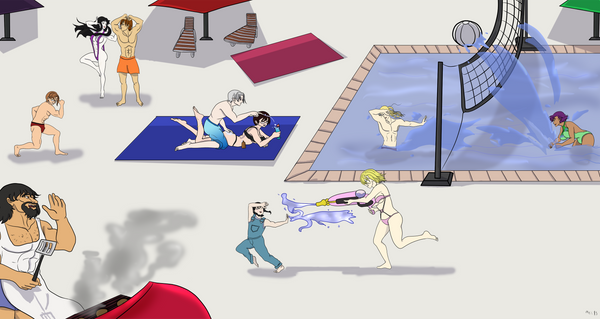 Summer Fun! by Mel-Meiko-Mei-Ling