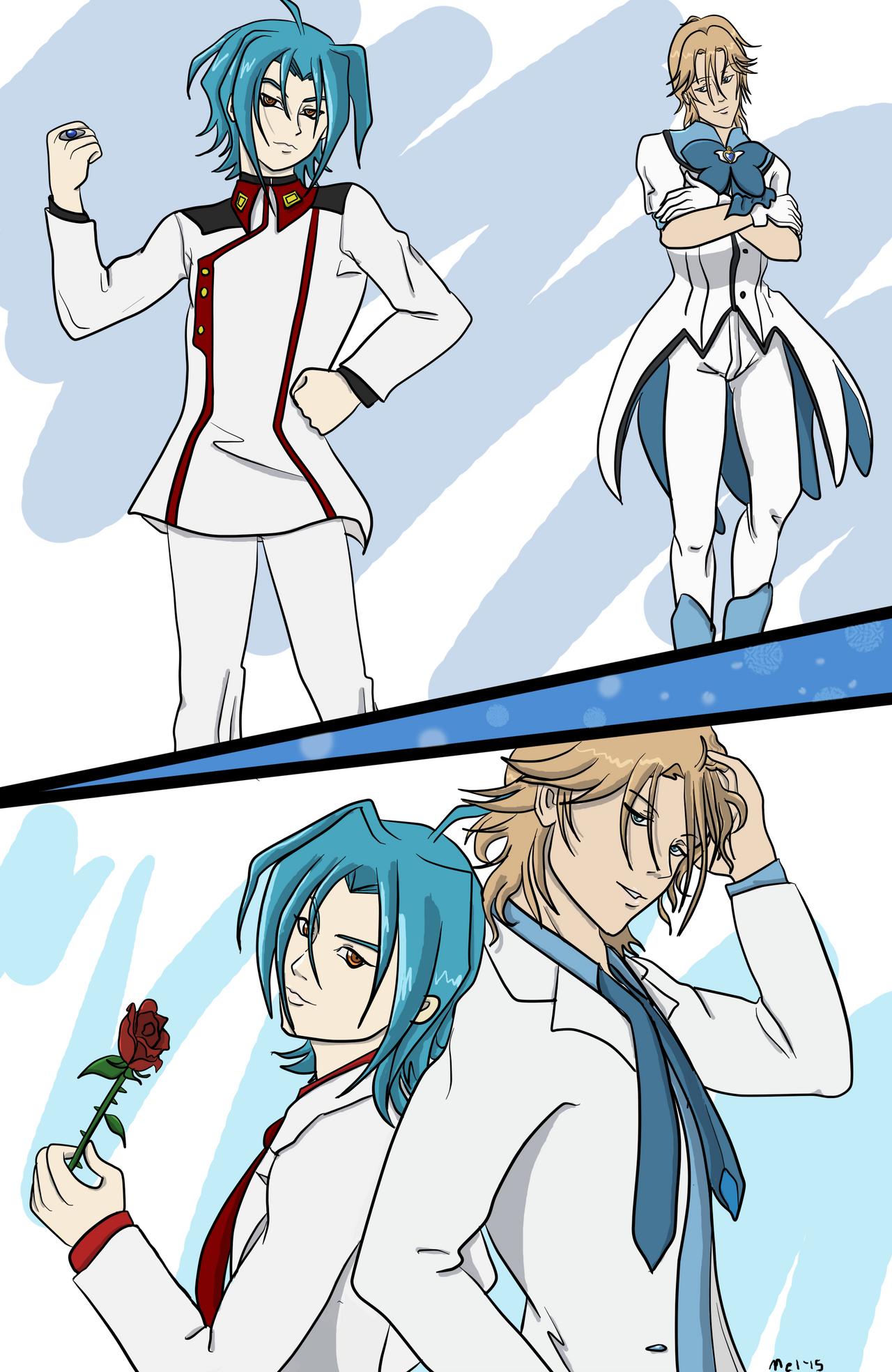 Princes of Blue by Mel-Meiko-Mei-Ling