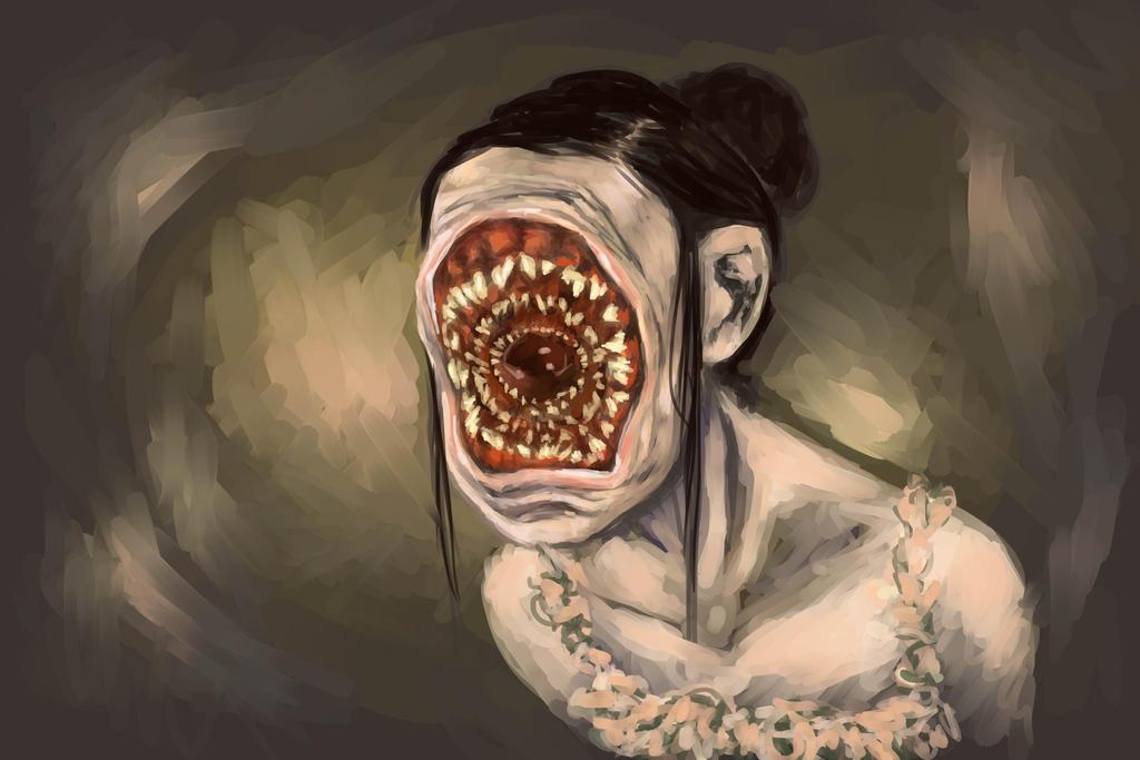 Leech Girl By Kitsune Fantasy On Deviantart