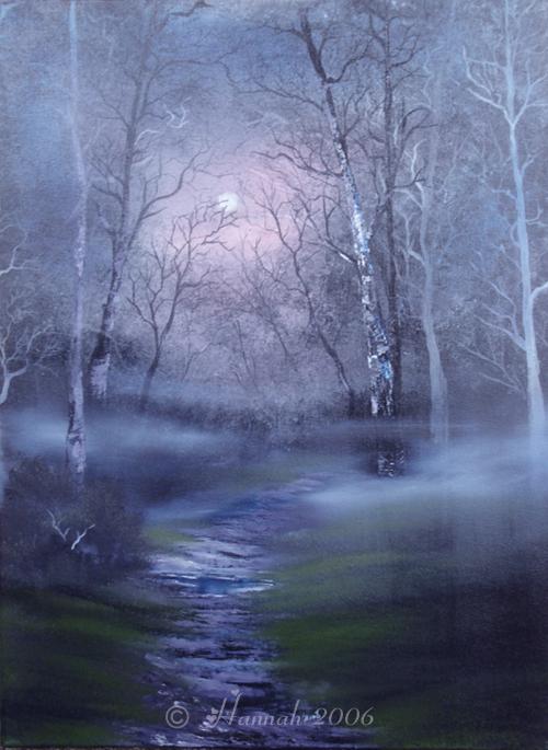 Moonlight Mist by GreenFlutterby