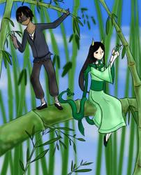 PKMNO Tanabata Festival: Collaboration by KittykatMWuster