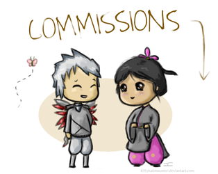 Commissions: Open by KittykatMWuster