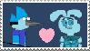 AhnahisxMordecai Stamp by SuperDrewBros