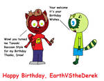 Happy Birthday, EarthVStheDerek by SuperDrewBros