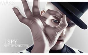 I spy.. by Maksalicious