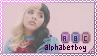 [Melanie Martinez] Alphabet Boy Stamp by diiqx