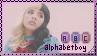 [Melanie Martinez] Alphabet Boy Stamp by diiqx