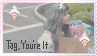 [Melanie Martinez] Tag, You're It Stamp by diiqx