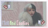 [Melanie Martinez] Milk and Cookies Stamp by diiqx