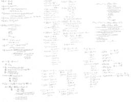 stock: math scribbles by fiveless