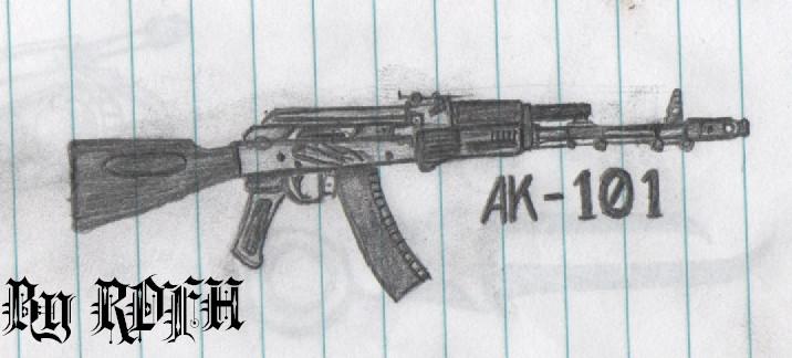 AK 101 by RDFH on DeviantArt
