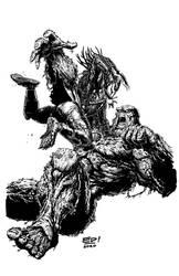 Swamp Thing vs Predator