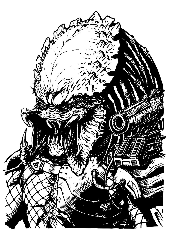 Predator Face