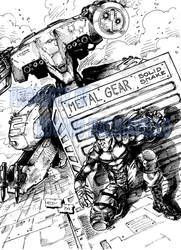 Metal Gear - Solid Snake by Murd-Ed