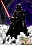 Darth Vader in colors