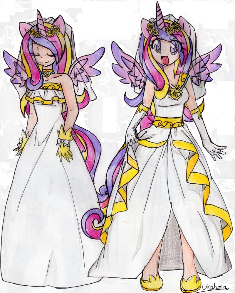 MLP FIM: Royal Wedding Princess Cadence by Urahana on ...