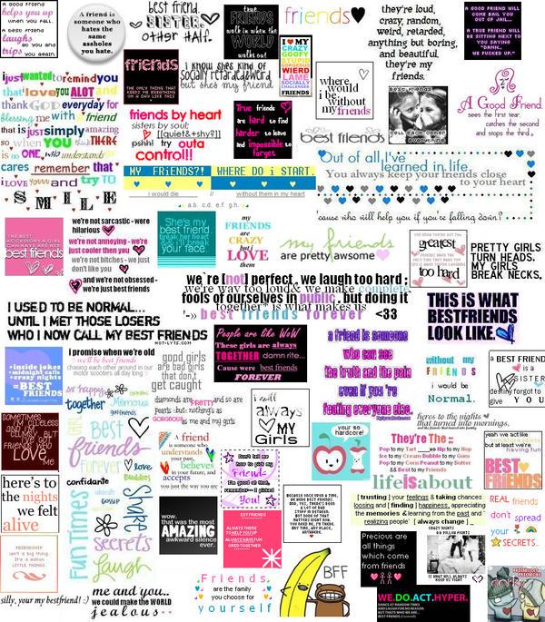 friends collage wallpaper - photo #29