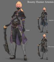 Bounty Hunter Artemis by BookmarkAHead
