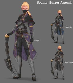 Bounty Hunter Artemis