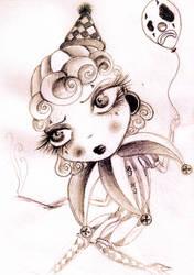 ClownFace by Chibipanduh